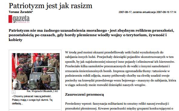 wyborcza-patriotyzm-jak-rasizm-2007-short